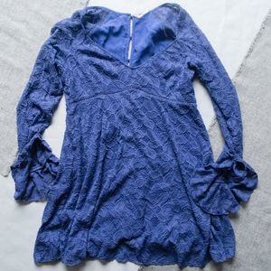 Free People Baby Doll Dress Size Large L